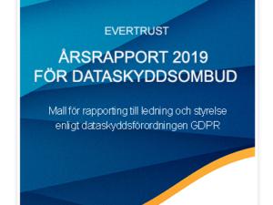 bild på årsrapport för dataskyddsombud